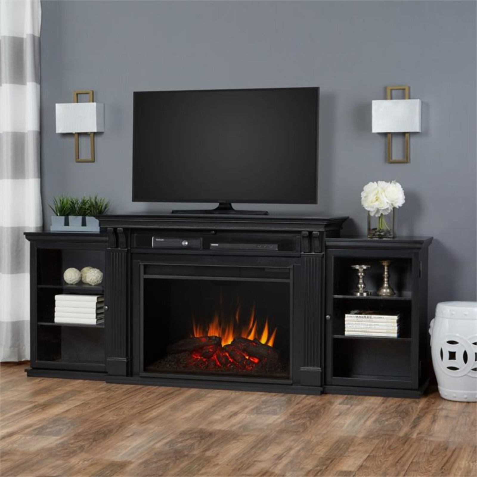 Real Flame Tracey Grand 84 Quot Electric Fireplace Sears