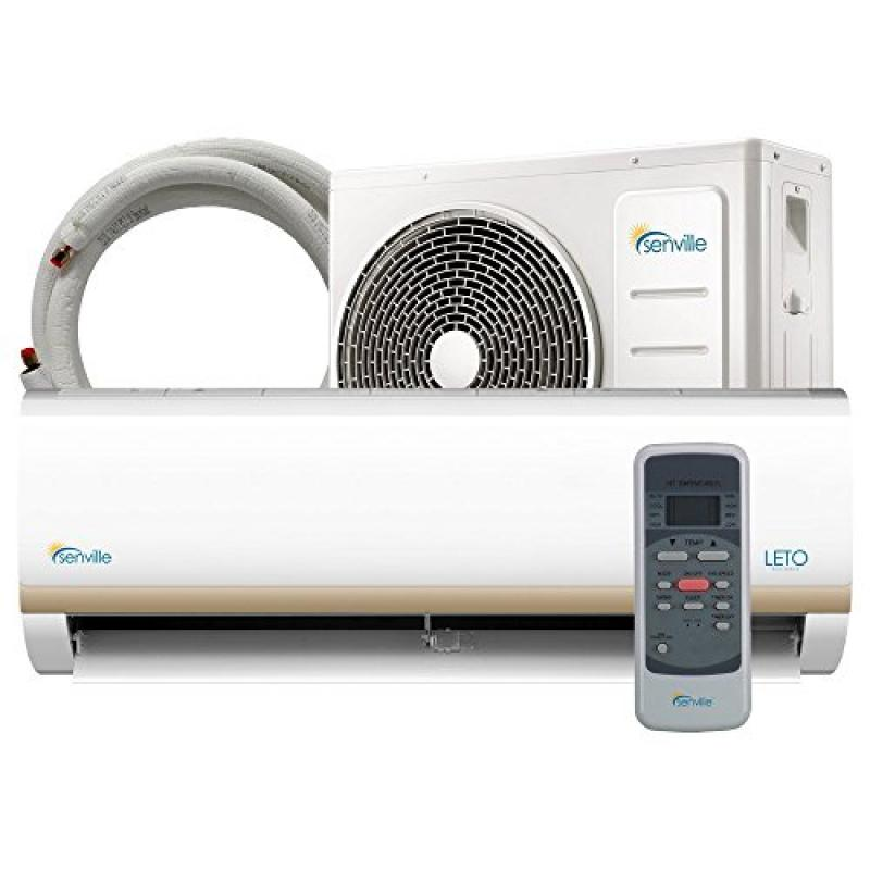 Senville SENL-12CD 12000 BTU 15 SEER Split Air Conditioner and Heat Pump, Mini PartNumber: SPM3677765921