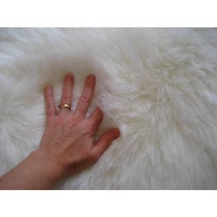Walk On Me Rugs Animal White Rug Pelt Shape 4