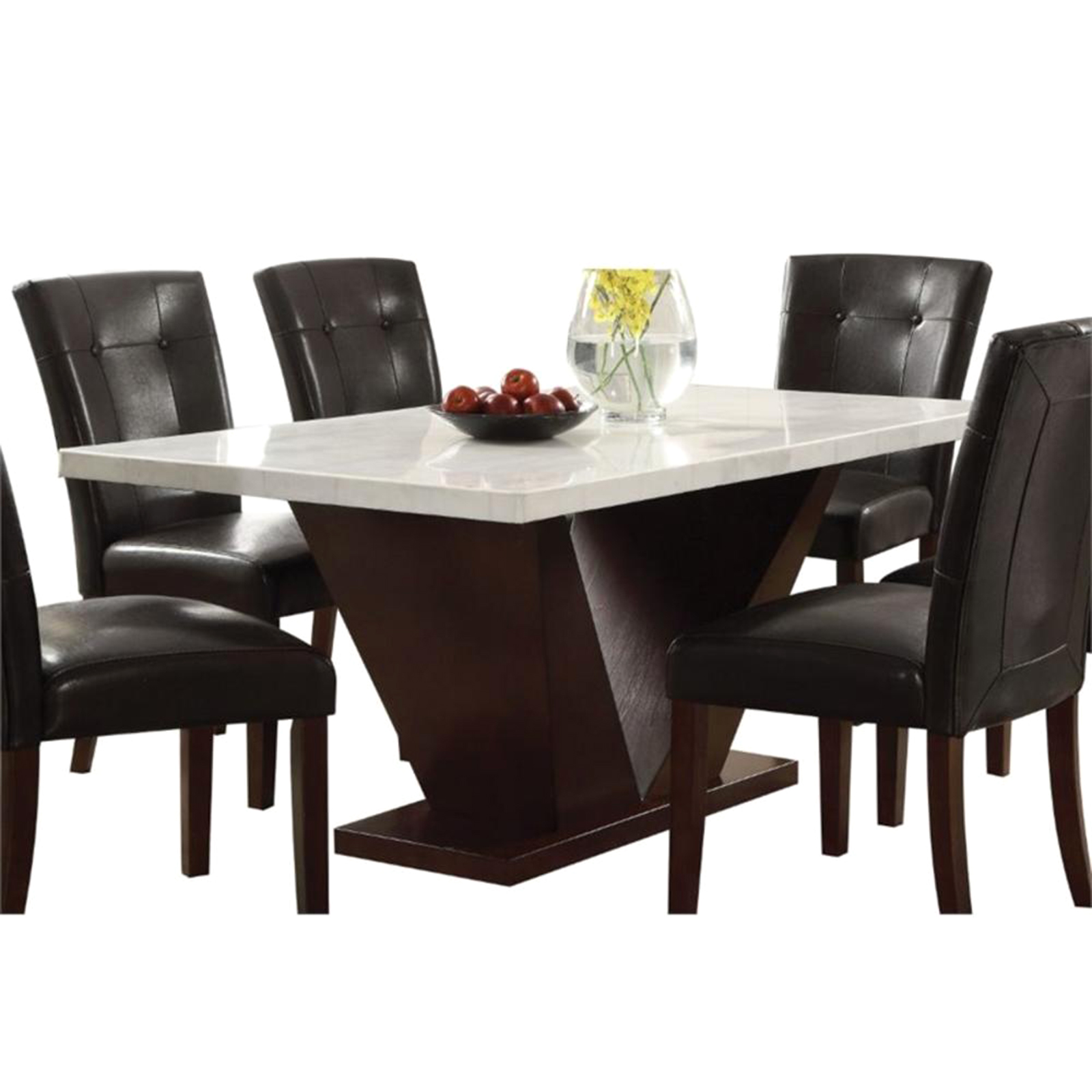Acme Forbes 59 Wood Dining Table Sears Marketplace
