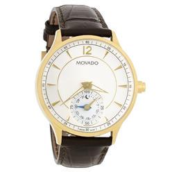19ae0560c Movado Circa Motion Leather Smartwatch Mens Watch 0660008