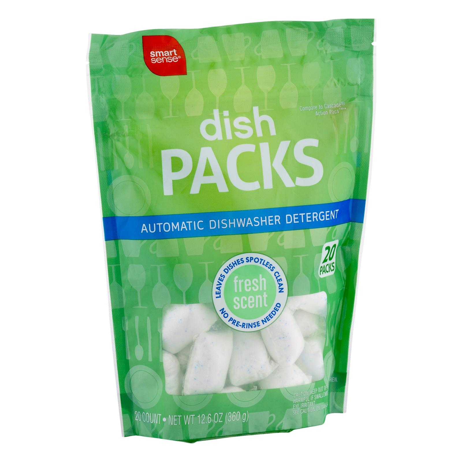 Smart Sense Dish Packs Automatic Dishwasher Detergent