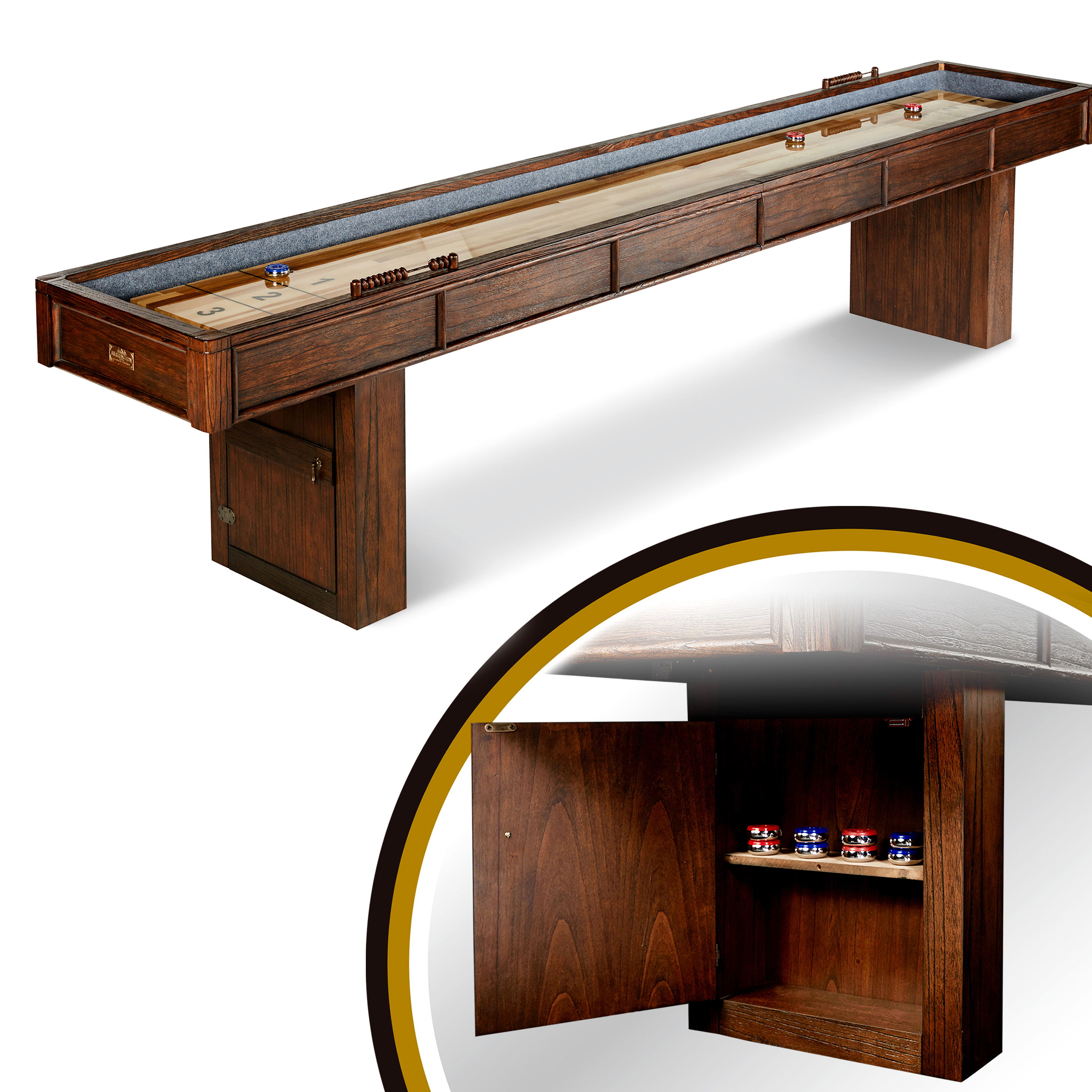 Webster Shuffleboard Table