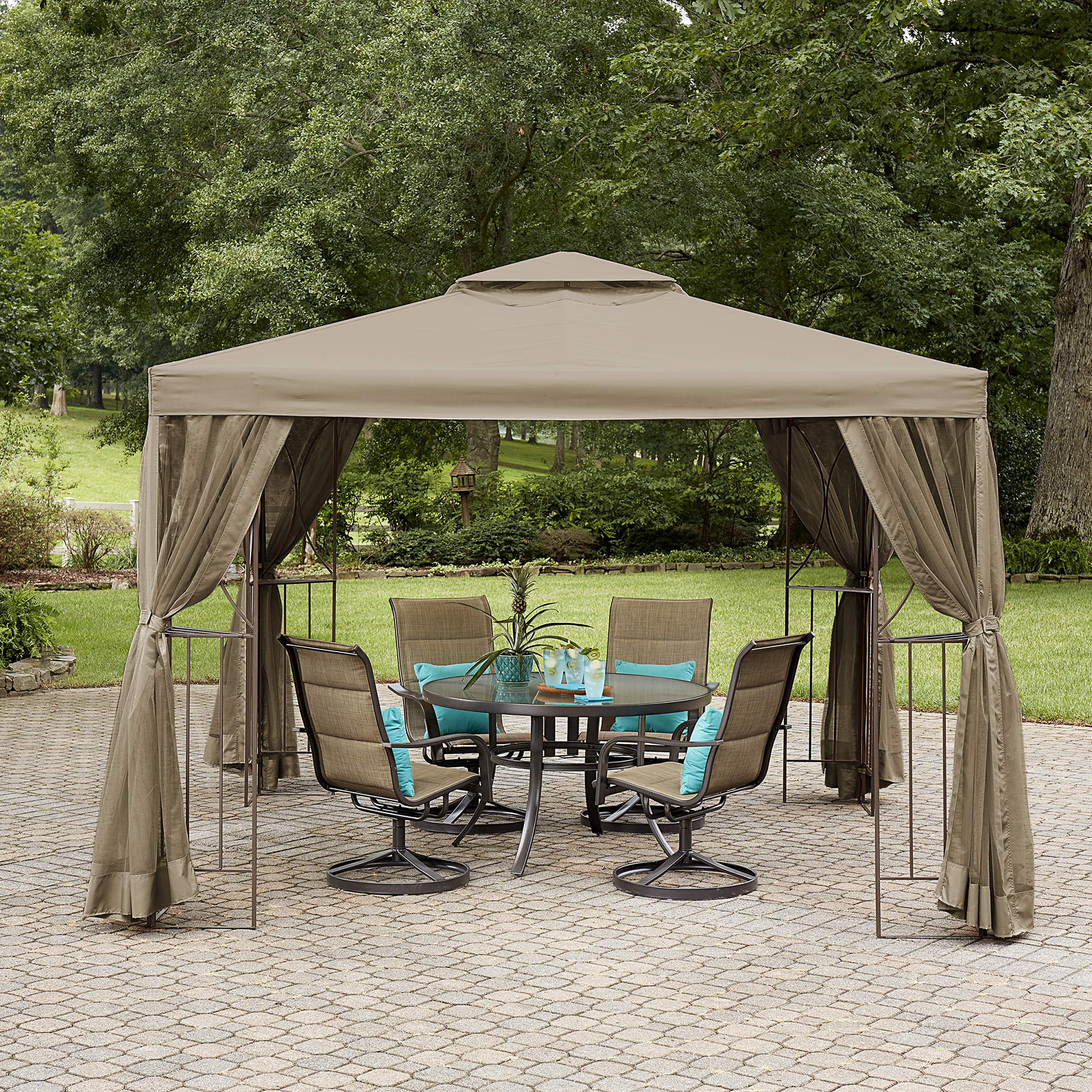 Garden Oasis Lakeville 10' x 10' Canopy Gazebo with Insect Netting *Limited Availability
