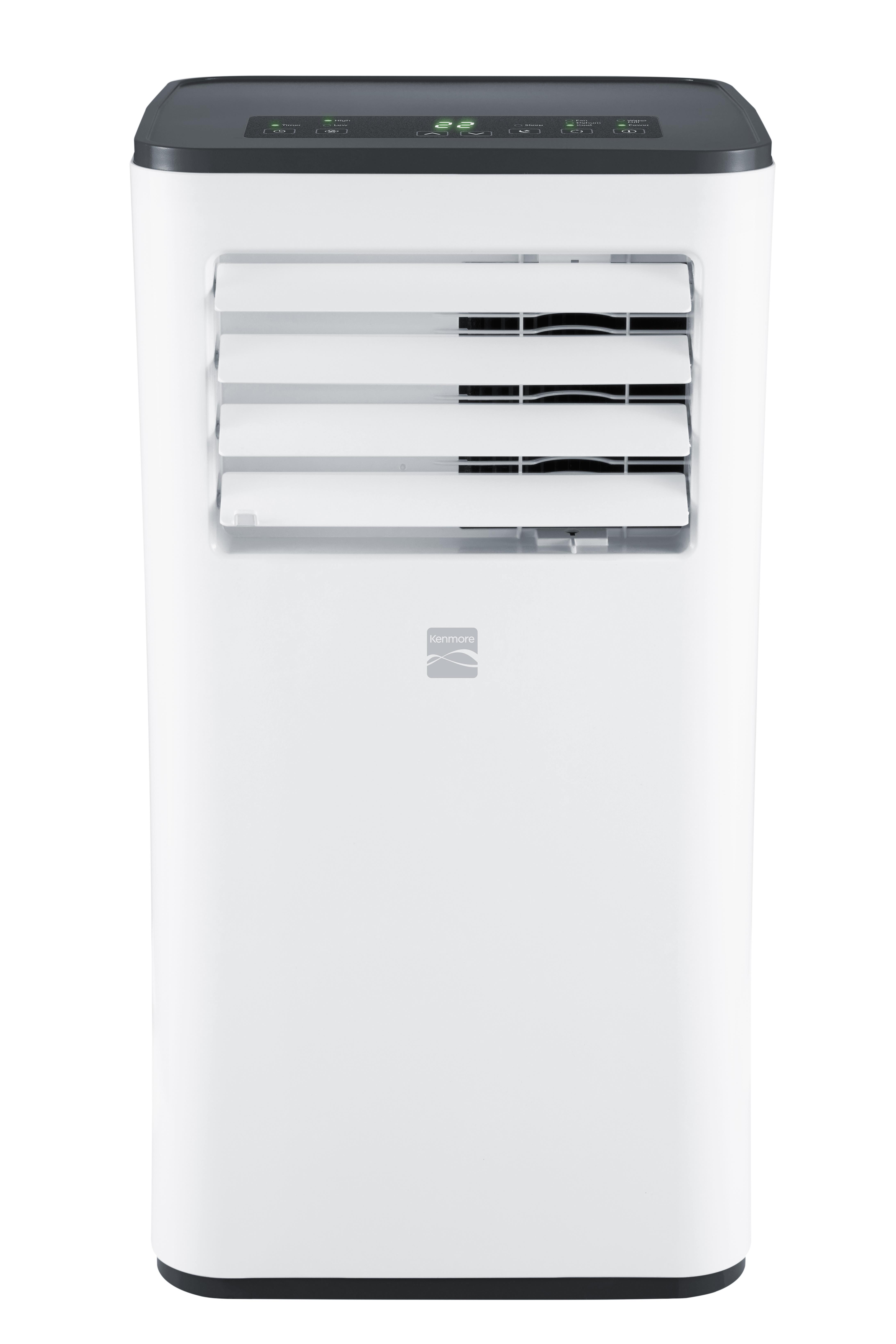 Kenmore 77086 8,000 BTU Portable Air Conditioner, White