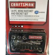 Craftsman 16pc. 1/4-inch Drive Mini Socket Set, SAE
