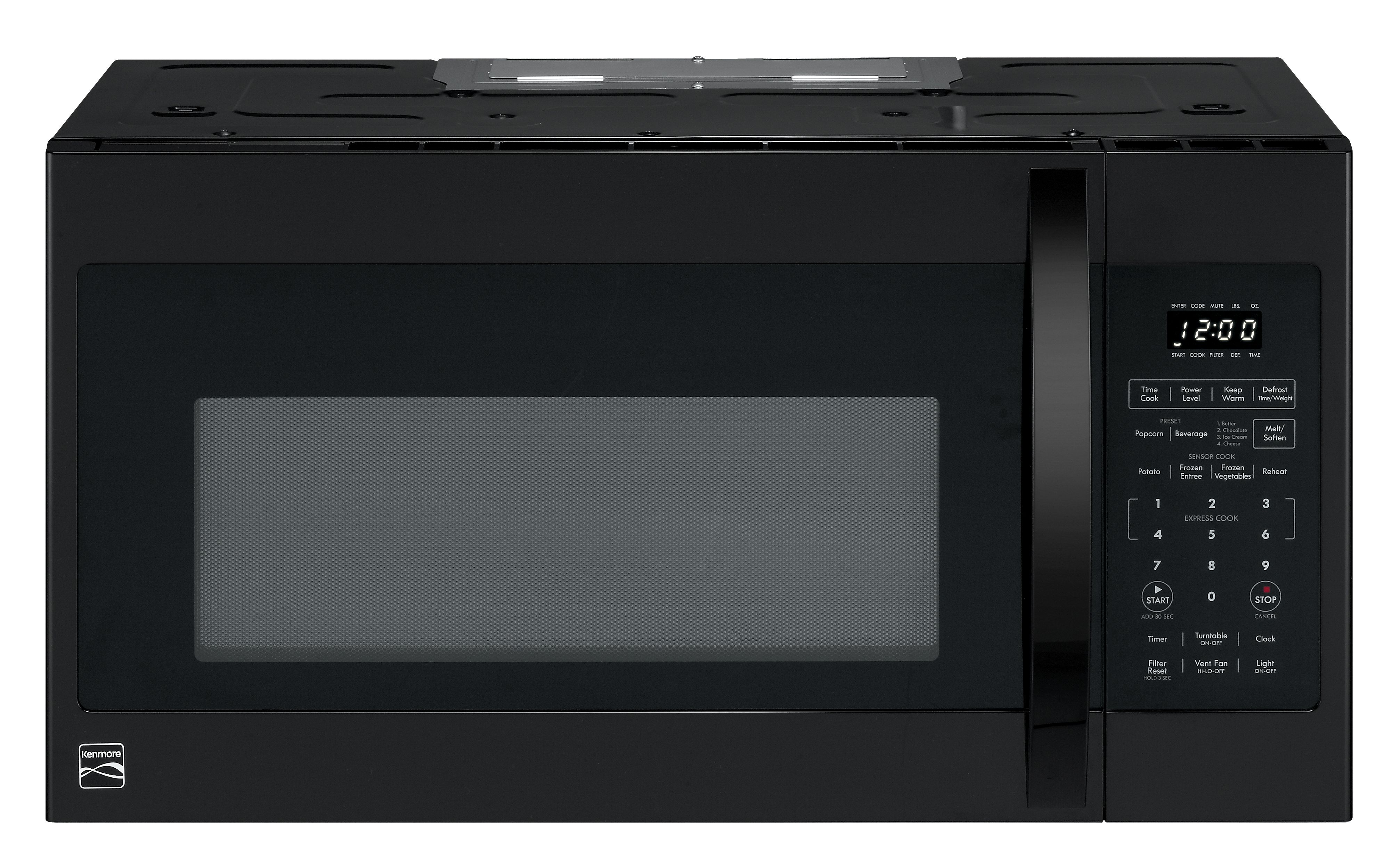 Kenmore 83539 1 8 Cu Ft Over The Range