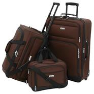 Forecast Catalina 3 Piece Luggage Set - Brown at Kmart.com