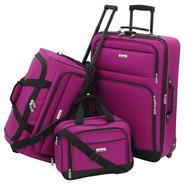 Forecast Catalina 3 Piece Luggage Set - Raspberry at Kmart.com