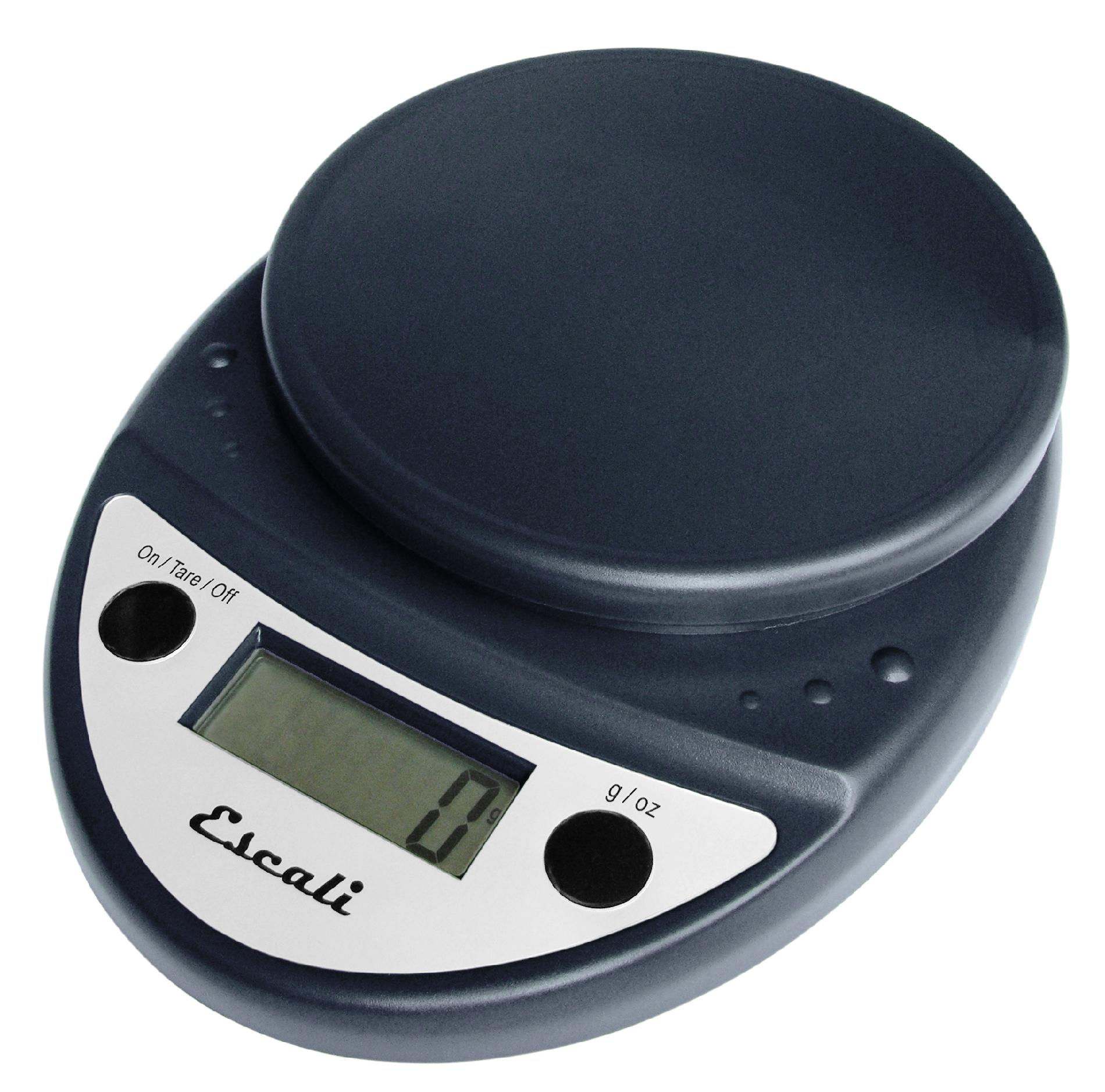Escali Primo Professional NSF Approved Digital Scale, 11 Lb / 5 Kg, Black
