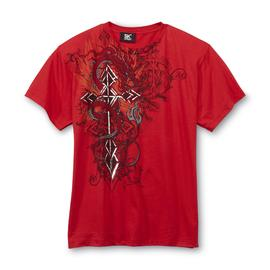 SK2 Boy's Graphic T-Shirt - Dragon & Metallic Cross at Kmart.com