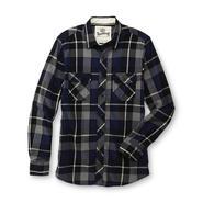 Roebuck & Co. Young Men's Big & Tall Flannel Shirt - Tartan Plaid at Sears.com