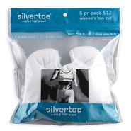 Silvertoe 6 Pair Low Cut at Sears.com