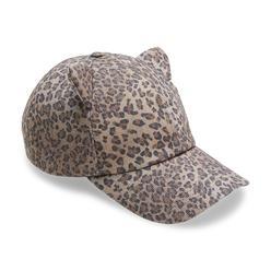 Joe Boxer Junior's Cat Baseball Cap - Leopard Print at Kmart.com
