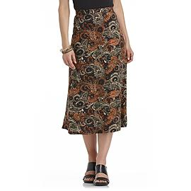 Laura Scott Women's Midi Skirt - Paisley at Sears.com