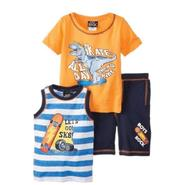 Boys Rock Infant & Toddler Boy's Tank Top, T-Shirt & Swim Trunks Set - Skateboard at Sears.com