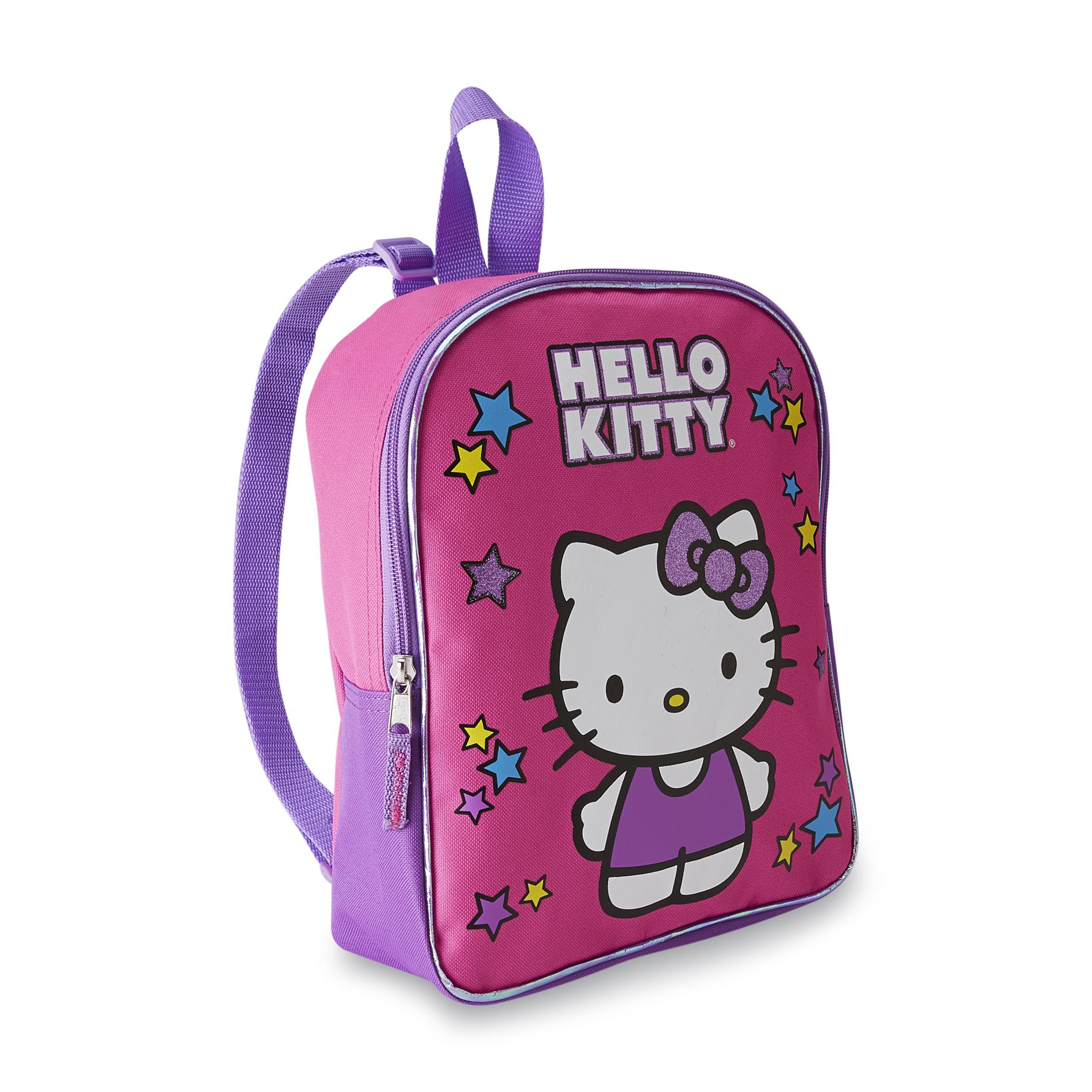 Hello Kitty Girl's Canvas Backpack