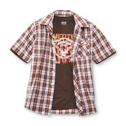 Route 66 Boy's Short-Sleeve Button Shirt & T-Shirt - Adventure Camp at Kmart.com