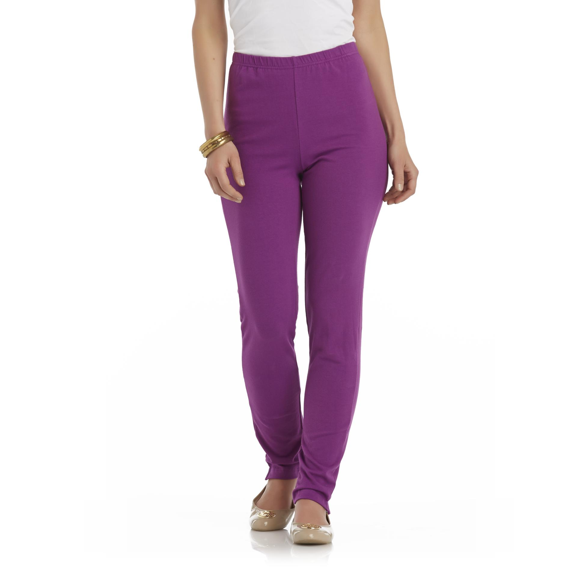 Basic Editions Women's Knit Leggings at Kmart.com