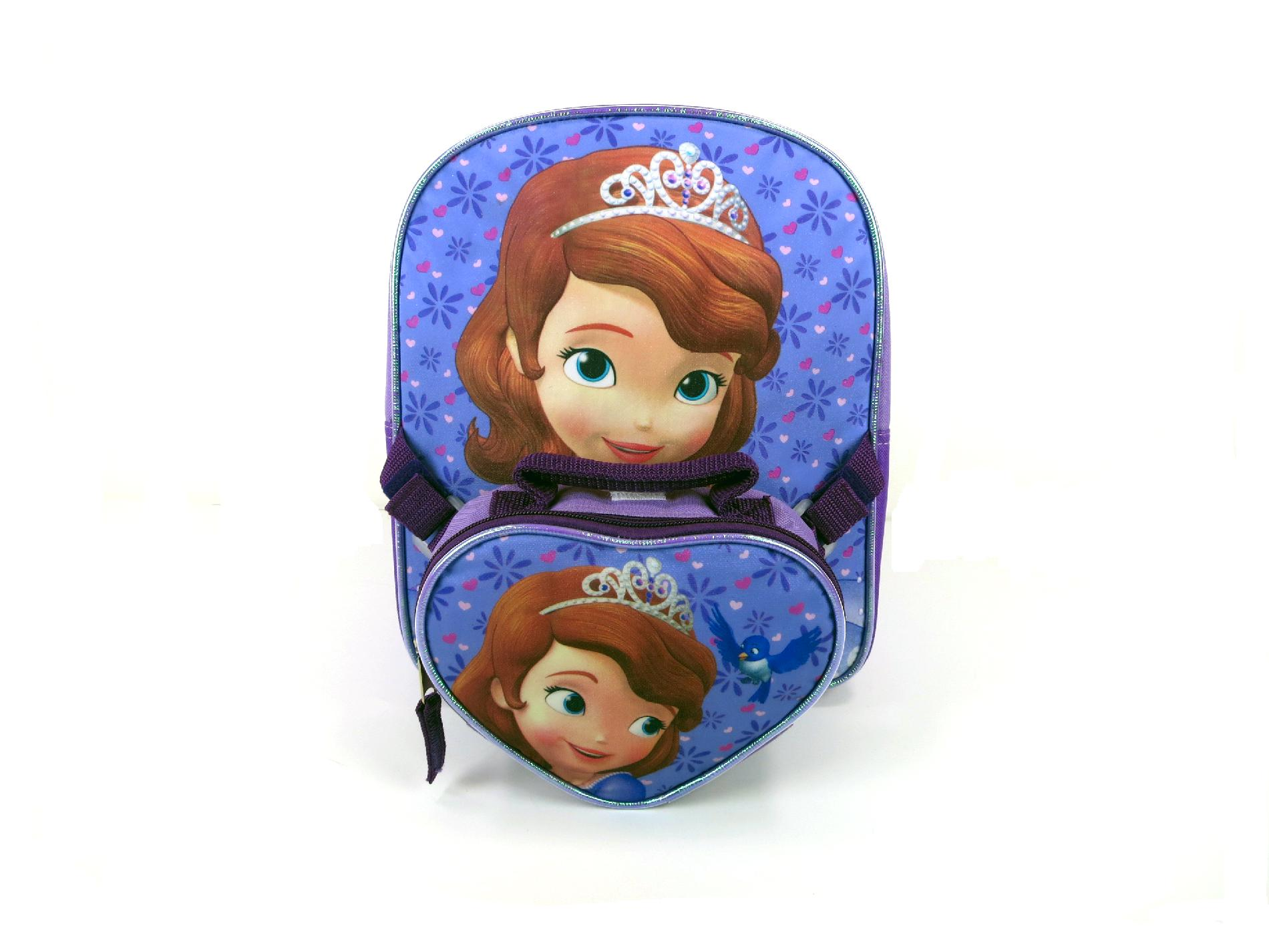 Disney Sofia Toddler Backpack with Detachable Handbag - 12