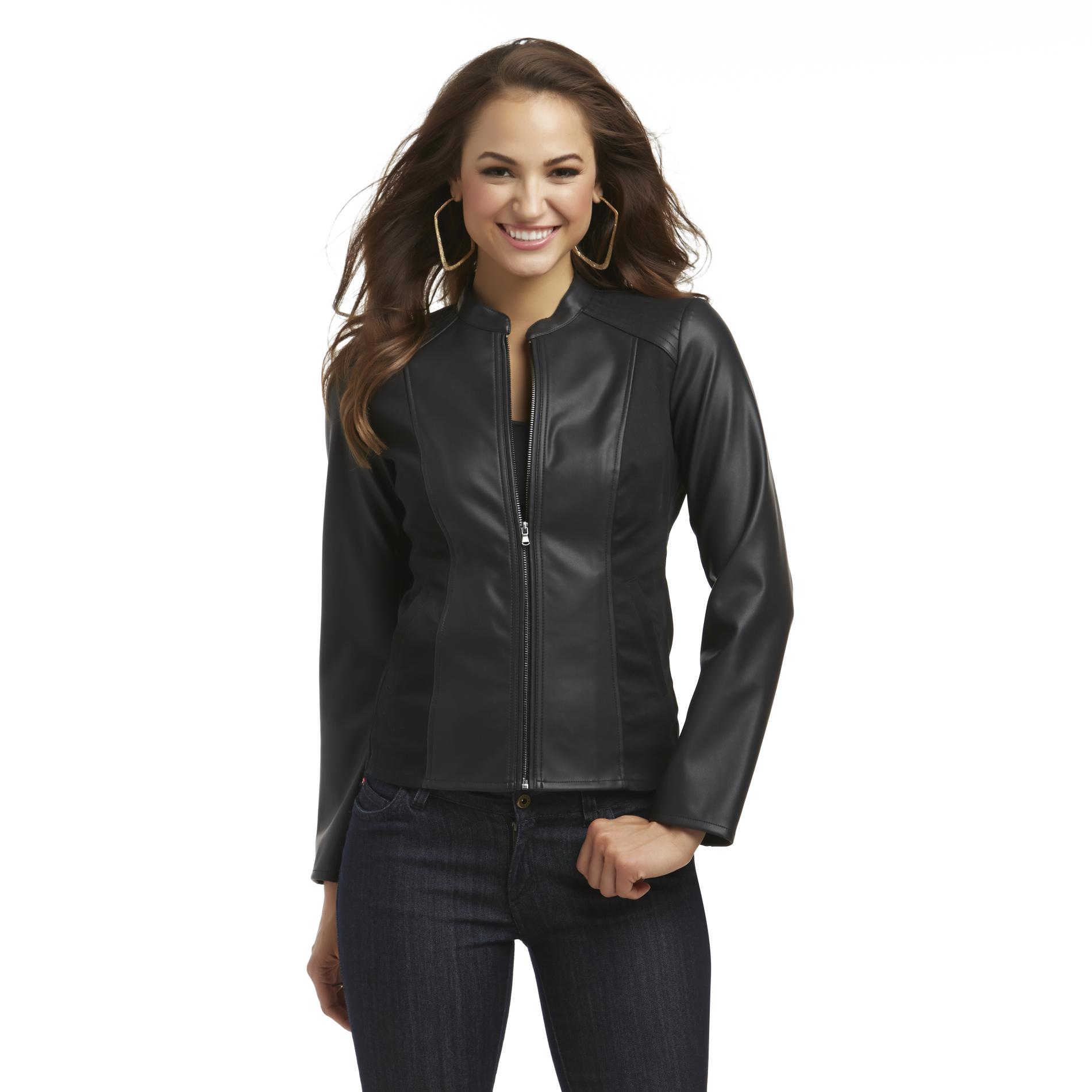 Sofia by Sofia Vergara Women's Moto Jacket at Kmart.com