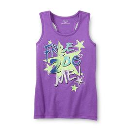 Piper Girl's Glitter Racerback Tank Top - Star at Kmart.com