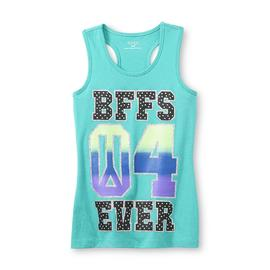 Piper Girl's Glitter Racerback Tank Top - BFFs at Kmart.com