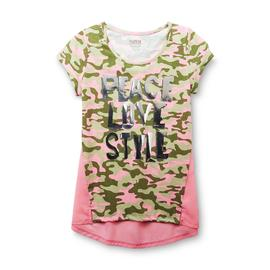 Route 66 Girl's Graphic T-Shirt - Camouflage at Kmart.com