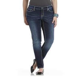 Bongo Junior's Plus Skinny Jeans - Distressed
