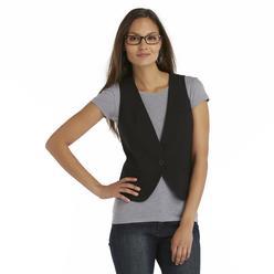 Attention Women's Button-Front Vest at Kmart.com