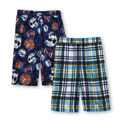 Joe Boxer Boy's 2-Pairs Pajama Shorts - Skulls Flames at Kmart.com
