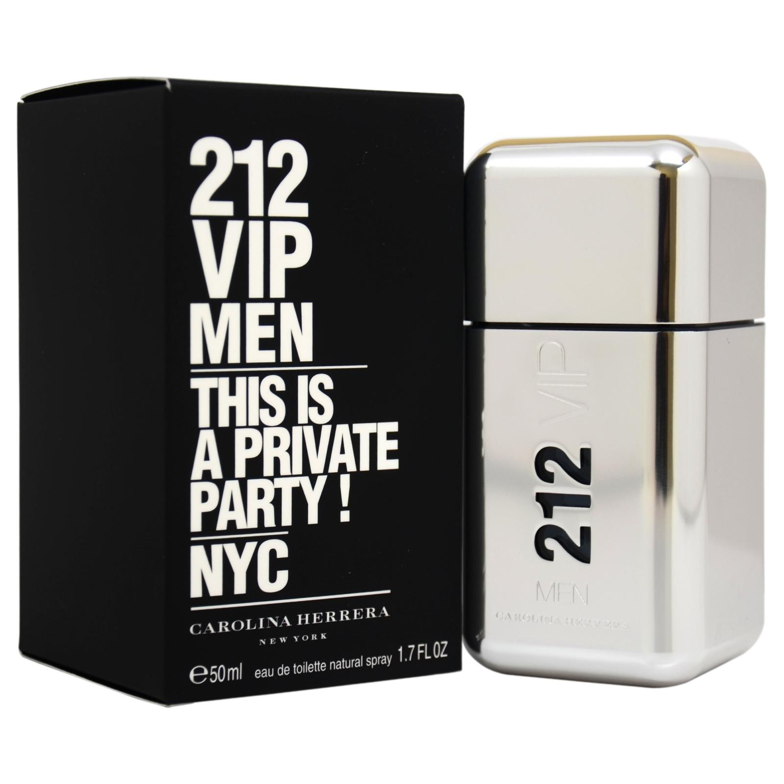 Carolina Herrera 212 VIP by for Men - 1.7 oz EDT Spray