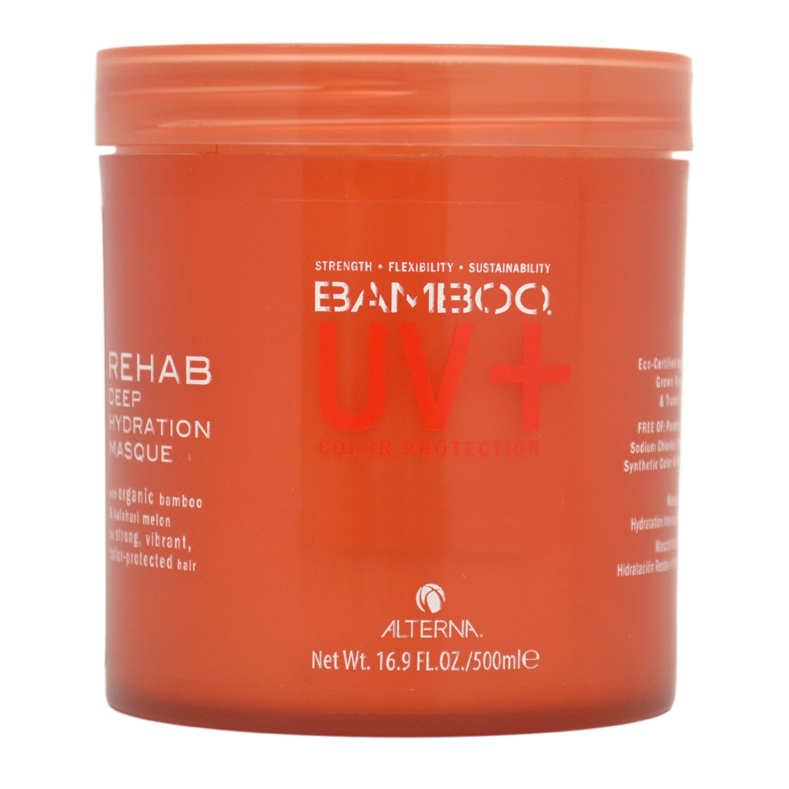Alterna Bamboo Color Hold+ Color Protection Rehab Deep Hydration Masque (For Strong, Vibrant, Color Protected Hair) 500ml/16.9oz PartNumber: 038V005384406000P