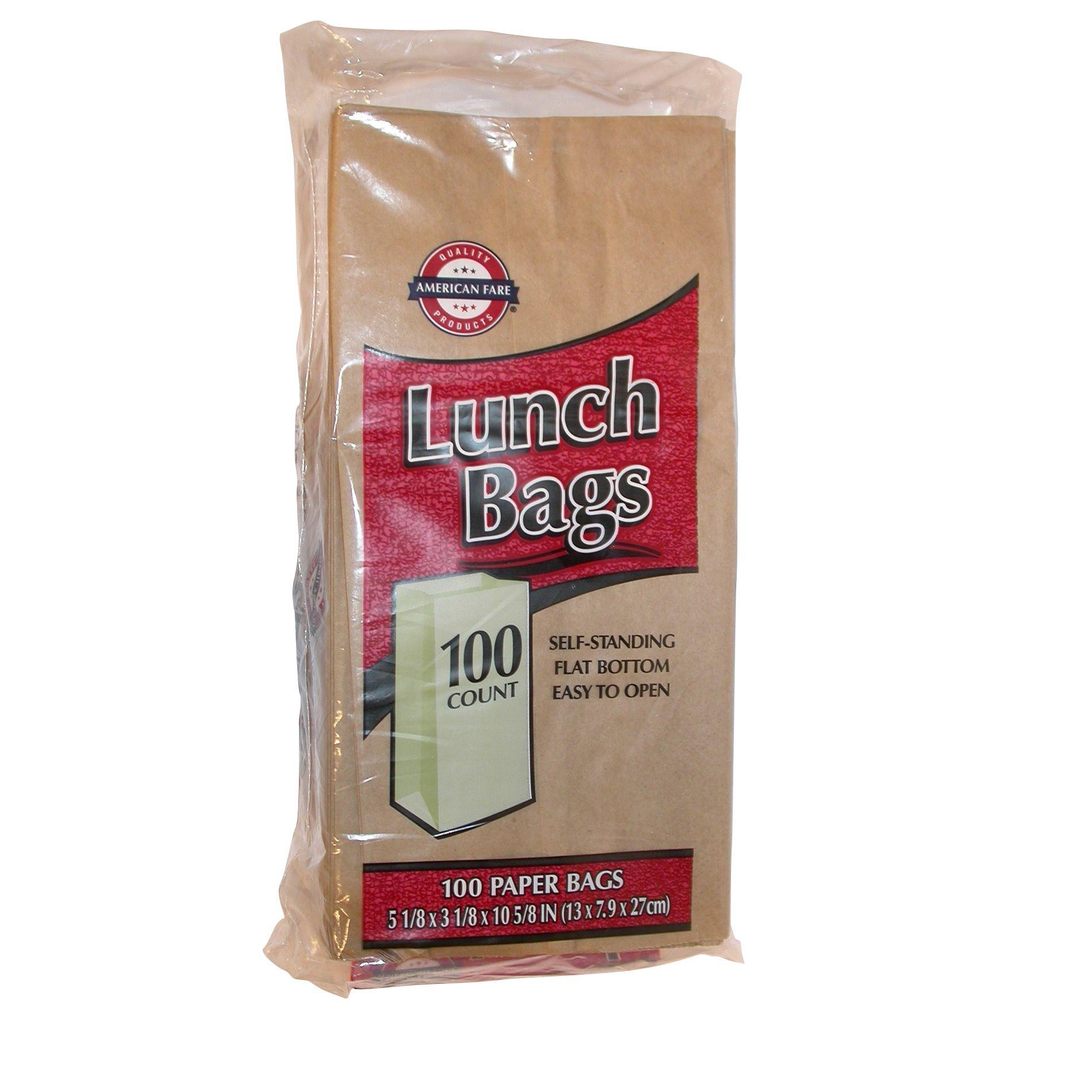 03cab0702145 UPC 042187402802 - Paper Lunch Bags 100 count | upcitemdb.com