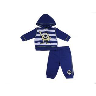 Disney Baby Monsters, Inc. Newborn & Infant Boy's Hoodie Jacket & Pants