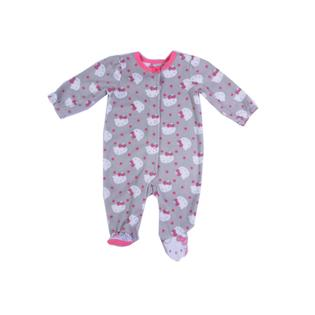 Hello Kitty Baby Newborn & Infant Girl's Microfleece Sleeper Pajamas