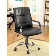 Monovo Black Leatherette Office Chair at Sears.com