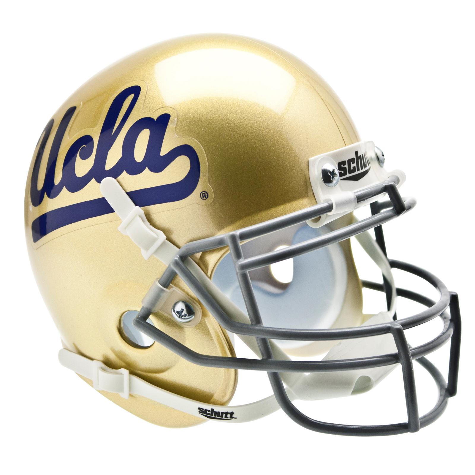 Image of Schutts Sports University of California Bruins NCAA Mini Helmet, metal