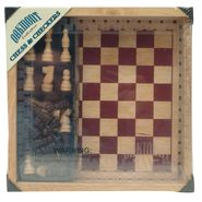 Cardinal Oak Chess & Checkers Set at Kmart.com