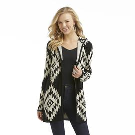Bongo Junior's Hooded Cardigan Sweater - Tribal at Sears.com