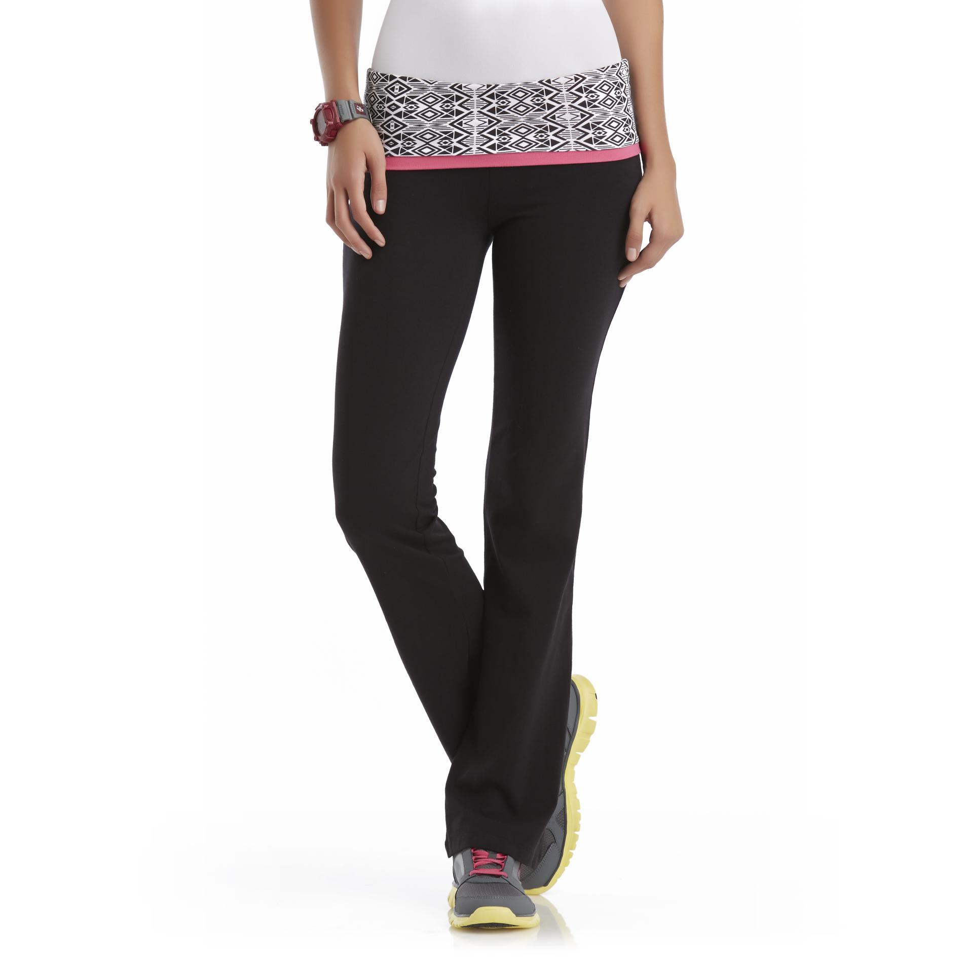 Joe Boxer Plus Size Junior's Plus Bootcut Yoga Pants - Triba  Girl' Size: 1XL plus size,  plus size fashion plus size appare