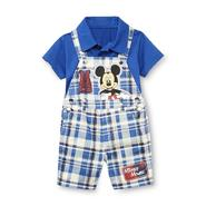Disney Baby Mickey Mouse Infant  Boy's Polo Shirt & Shortalls at Kmart.com