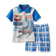 Thomas & Friends Toddler Boy's Graphic Polo & Shorts at Kmart.com