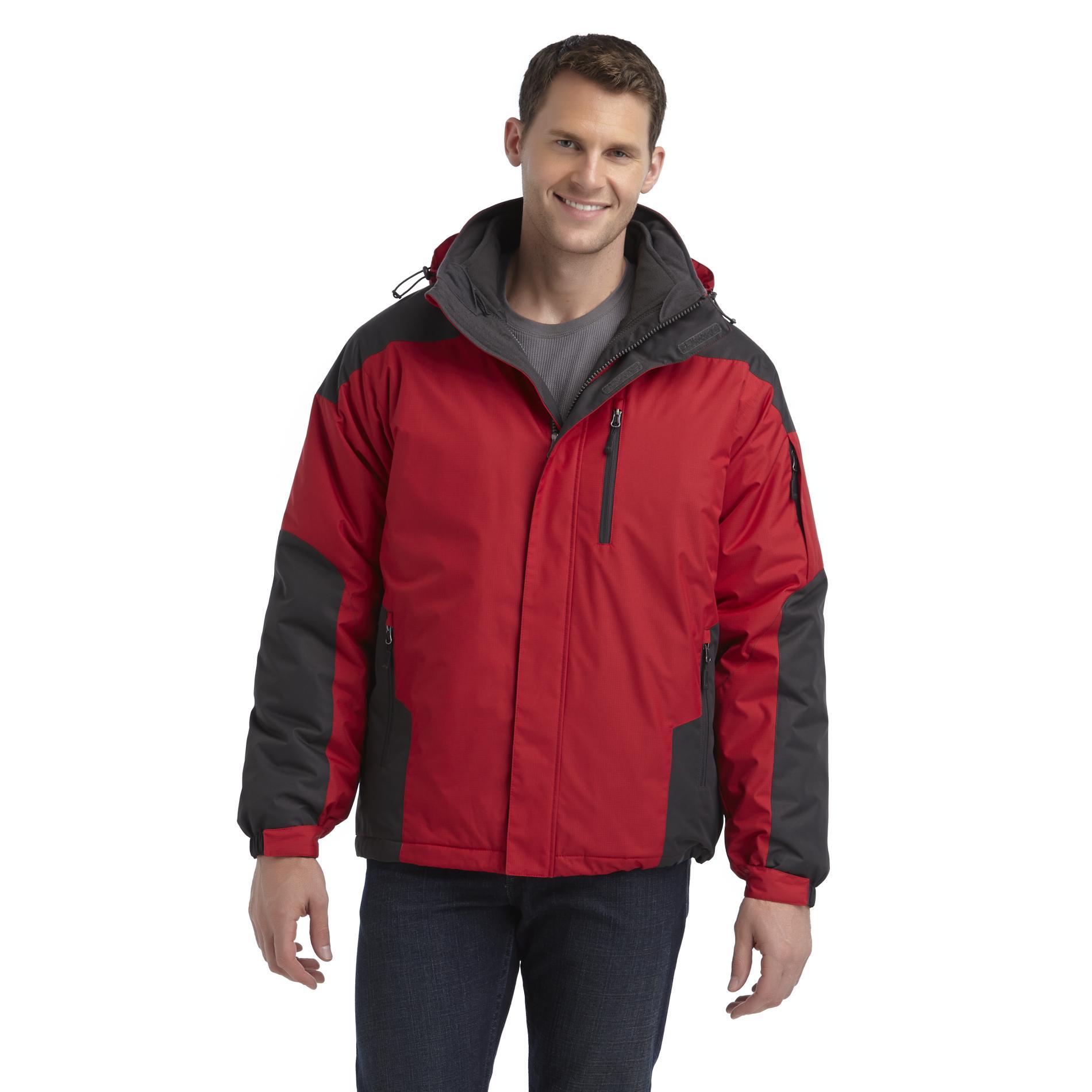 Athletech Men's 3-in-1 Winter Jacket - Colorblock at Kmart.com