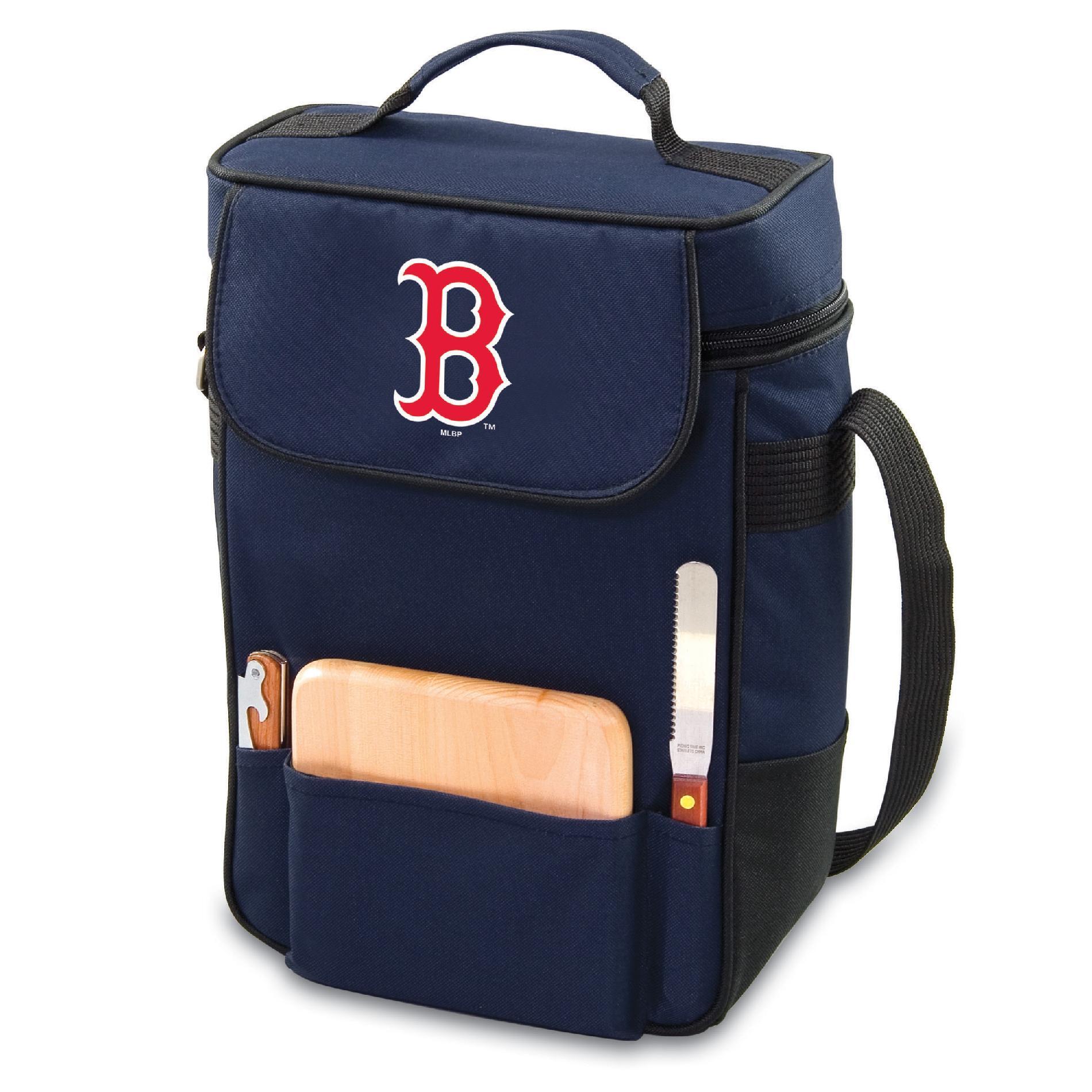 Image of Picnic Time Boston Red Sox Duet Wine & Cheese Tote