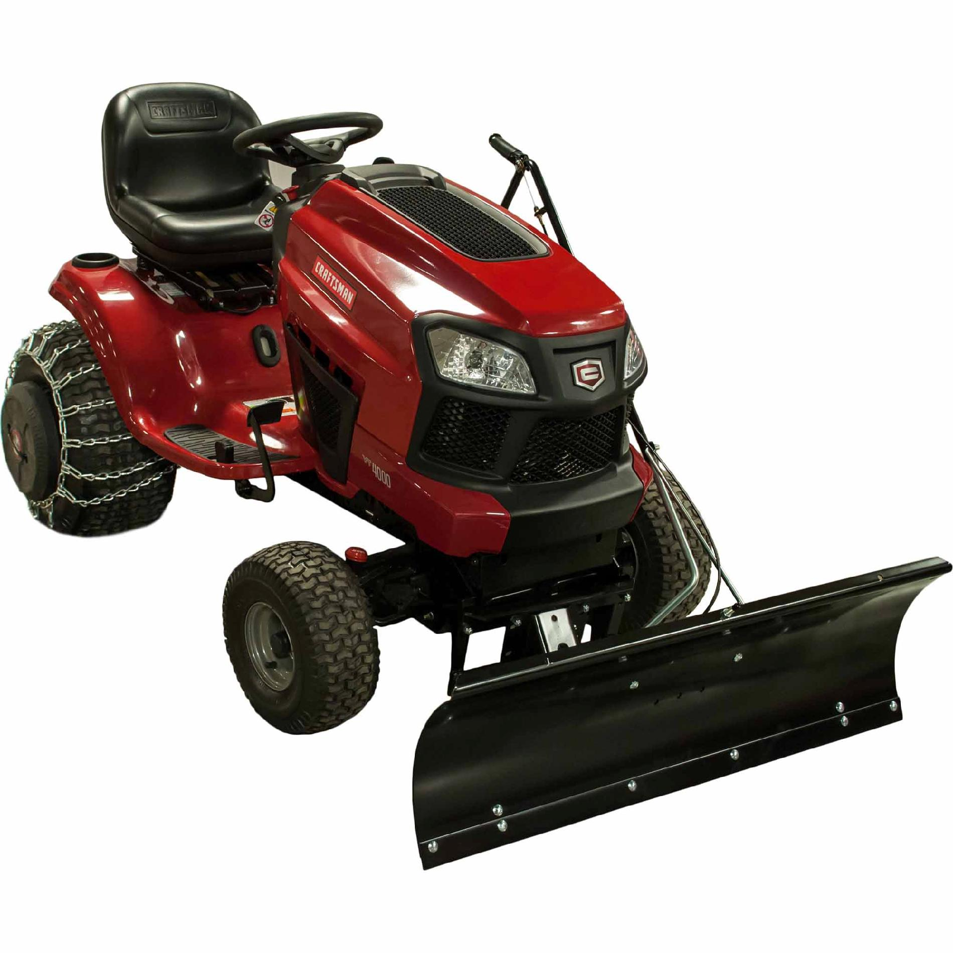 Craftsman Lawn Tractor Snow Blade 14 High Sears