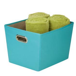 Honey Can Do Medium decorative storage bin with handles