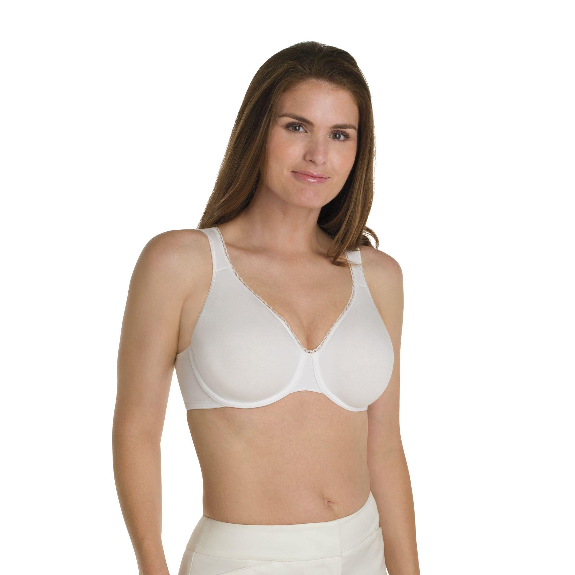 Playtex Bra Stretch Cotton Underwire Seamless Style 5222