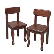 Gift Mark A Pair of Queen Anne Chairs Cherry at Sears.com