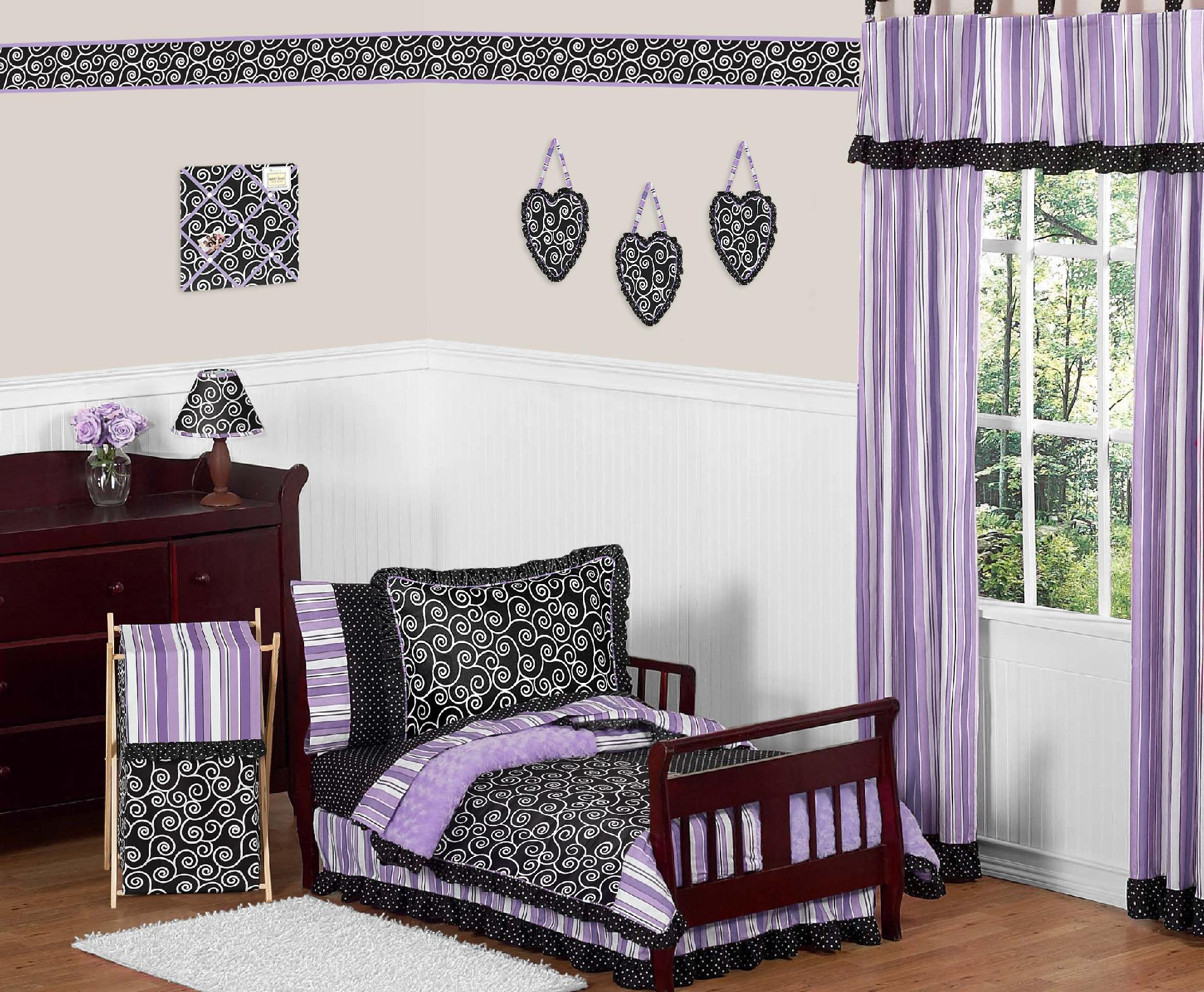 Sweet Jojo Designs Kaylee Collection 5pc Toddler Bedding Set